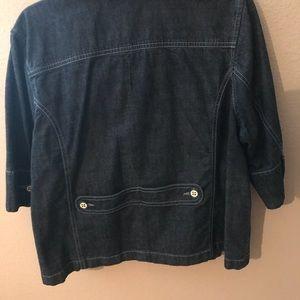 Faded Glory Jackets & Coats - Jean cape style jacket